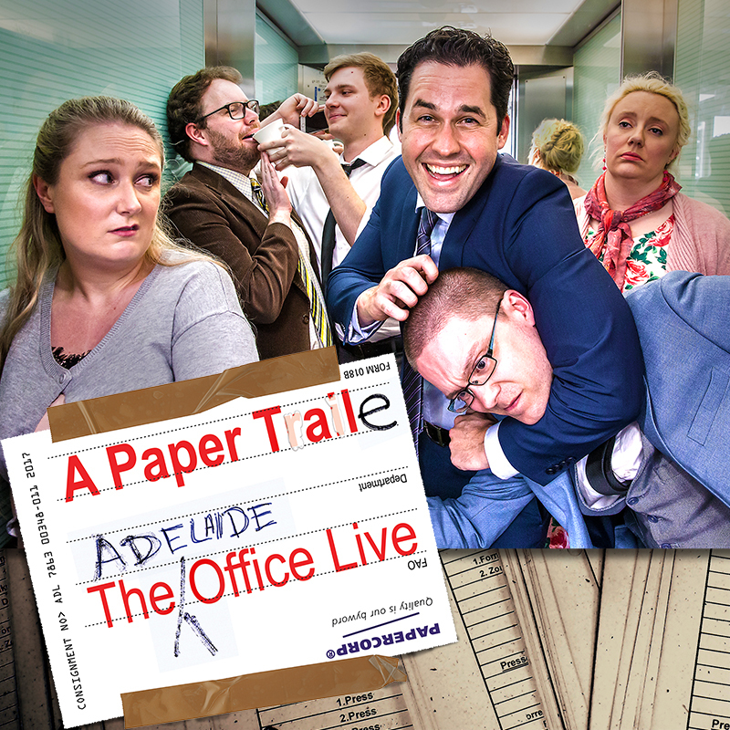 A Paper Tale: The Adelaide Office Live