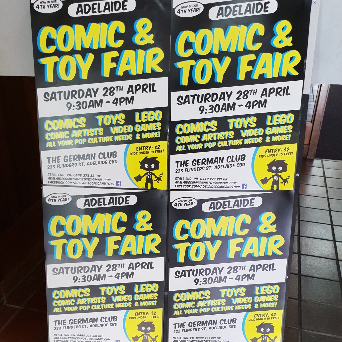 Adelaide Comic and Toy Fair 2018