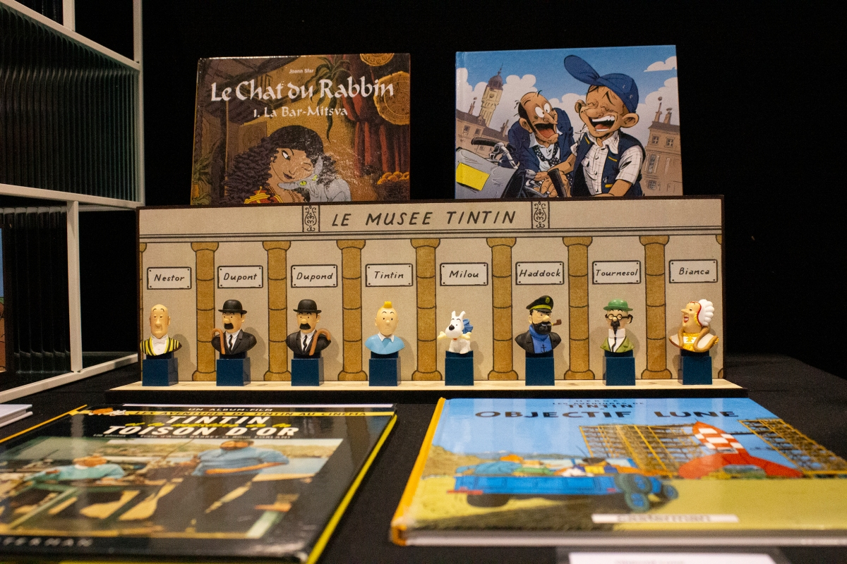 Franco-Belgian Comics at Supernova 2018