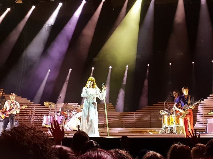 Florence + the Machine at Botanic Park