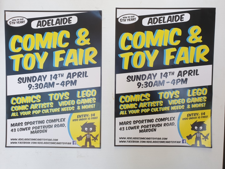 Adelaide Comic and Toy Fair 2019