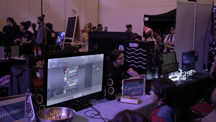 Inside the Indie Games Room atAVCon